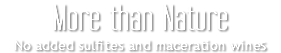 Lou Payral Red and white wine, without sulfites